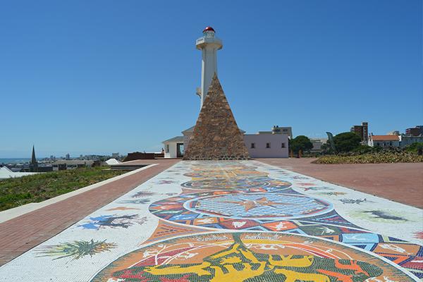 mosaic artwork - Garden Route