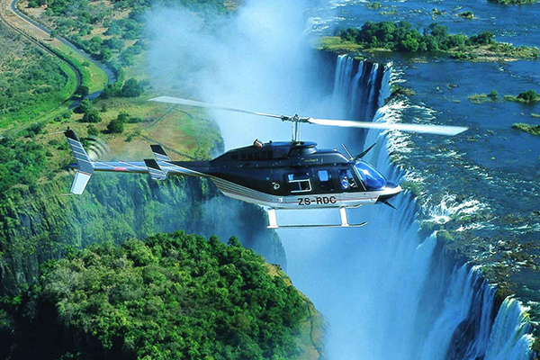 Flight of Angels Helicopter Ride - Day Tours Victoria Falls