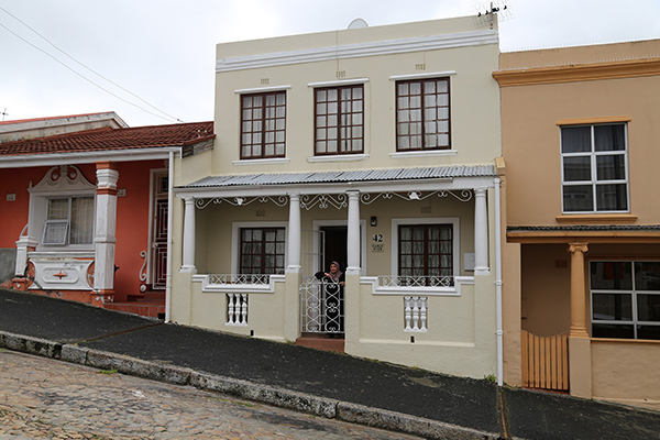 Half day Township tour - Bo-Kaap house on hill