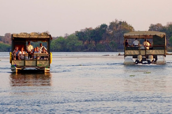 Jet Boat Sunset Cruise - Day Tour Victoria Falls