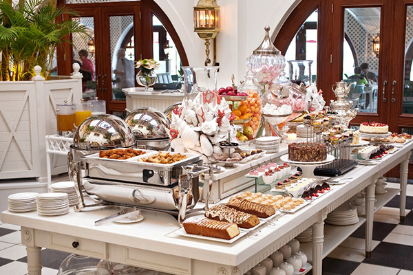 Mount Nelson Afternoon Tea - food spread