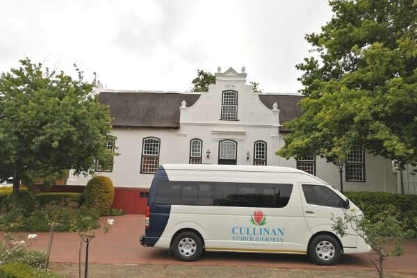 Cullinan Guided Journeys Vehicle - Neethlingshof Manor House