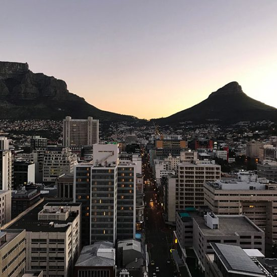 Table Mountain and Lion's Head