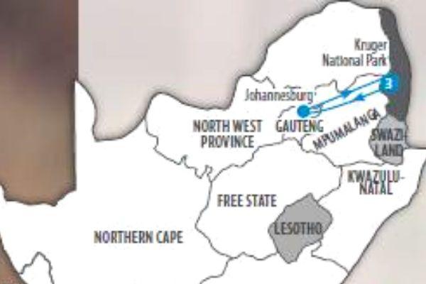 KNP Explorer map