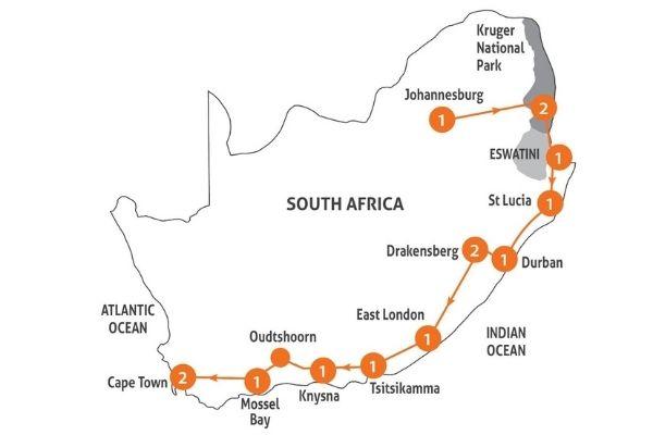 SA Surprise map