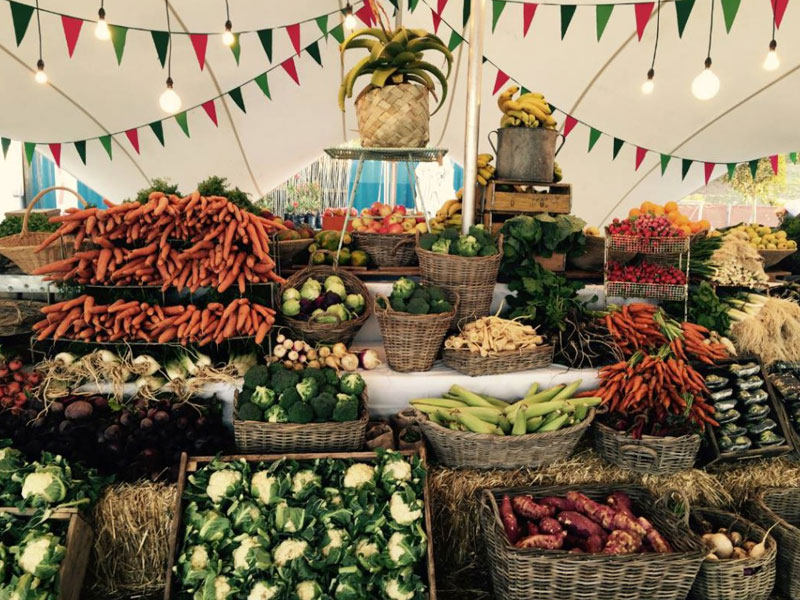 Fresh vegetable - Cape Town Food Market - Cullinan Guided Journeys